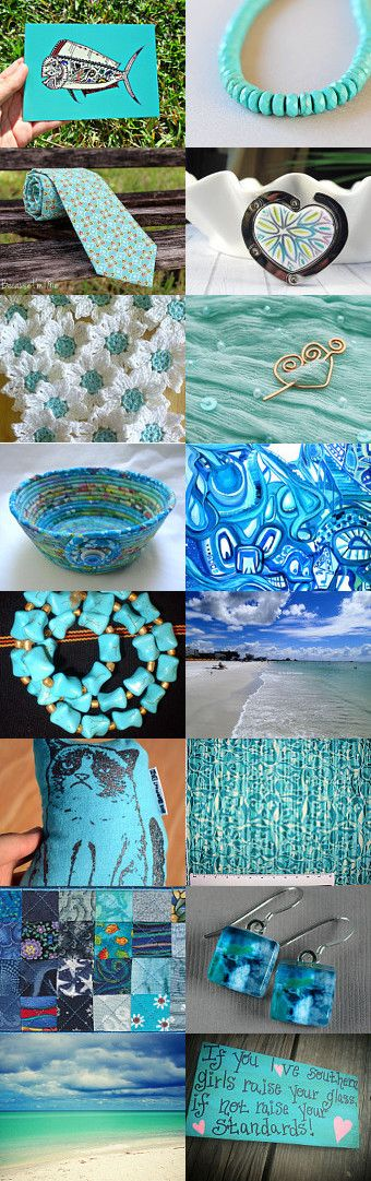 Teal We Meet Again by John Austin on Etsy--Pinned with TreasuryPin.com