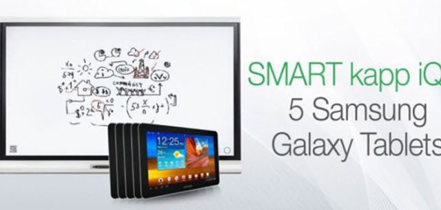 #Giveaway SMART kapp iQ 55 + 5 Samsung Galaxy Tab S 10.5-Inch Tablet « iDG | Best Gaming News Sites