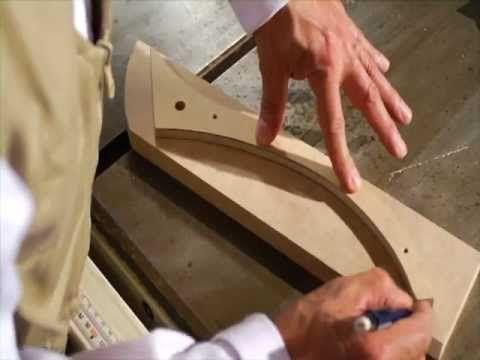 Corte con sierra de cinta ó sinfín de MDF - Creando con Madera Tablemac