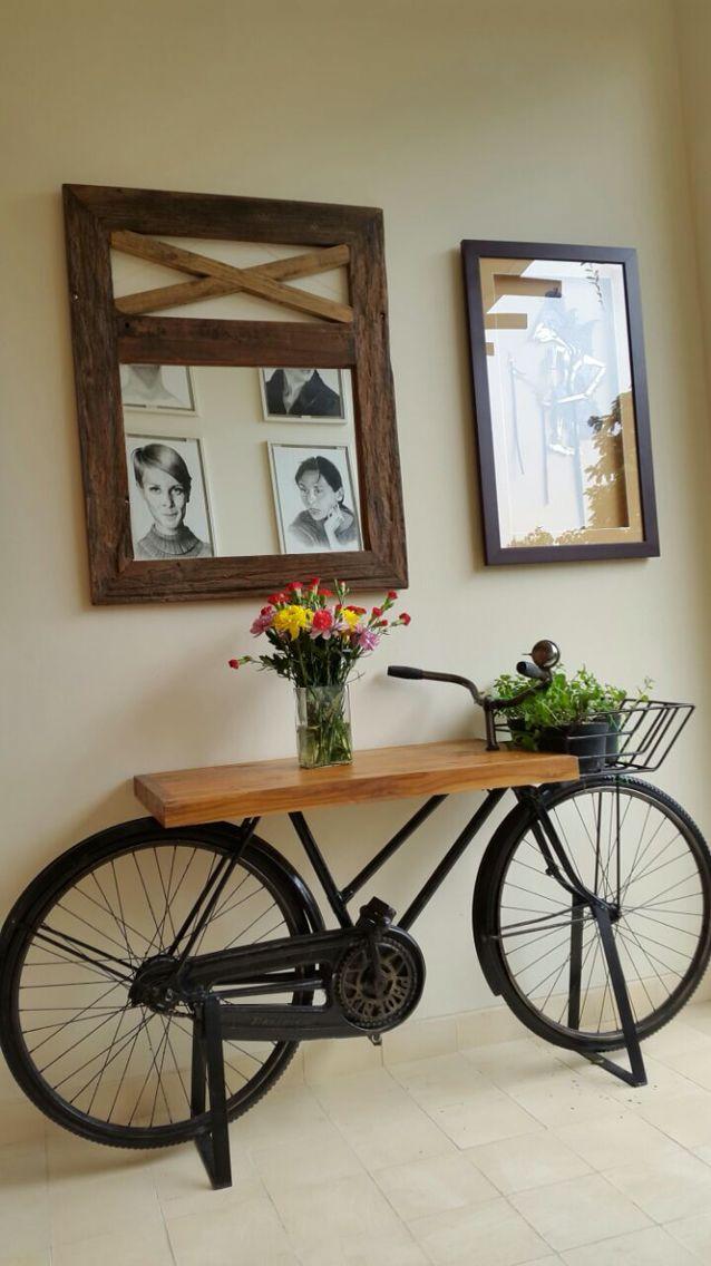 my boss' bike coffee table @greenville, Jakarta Barat, Indonesia