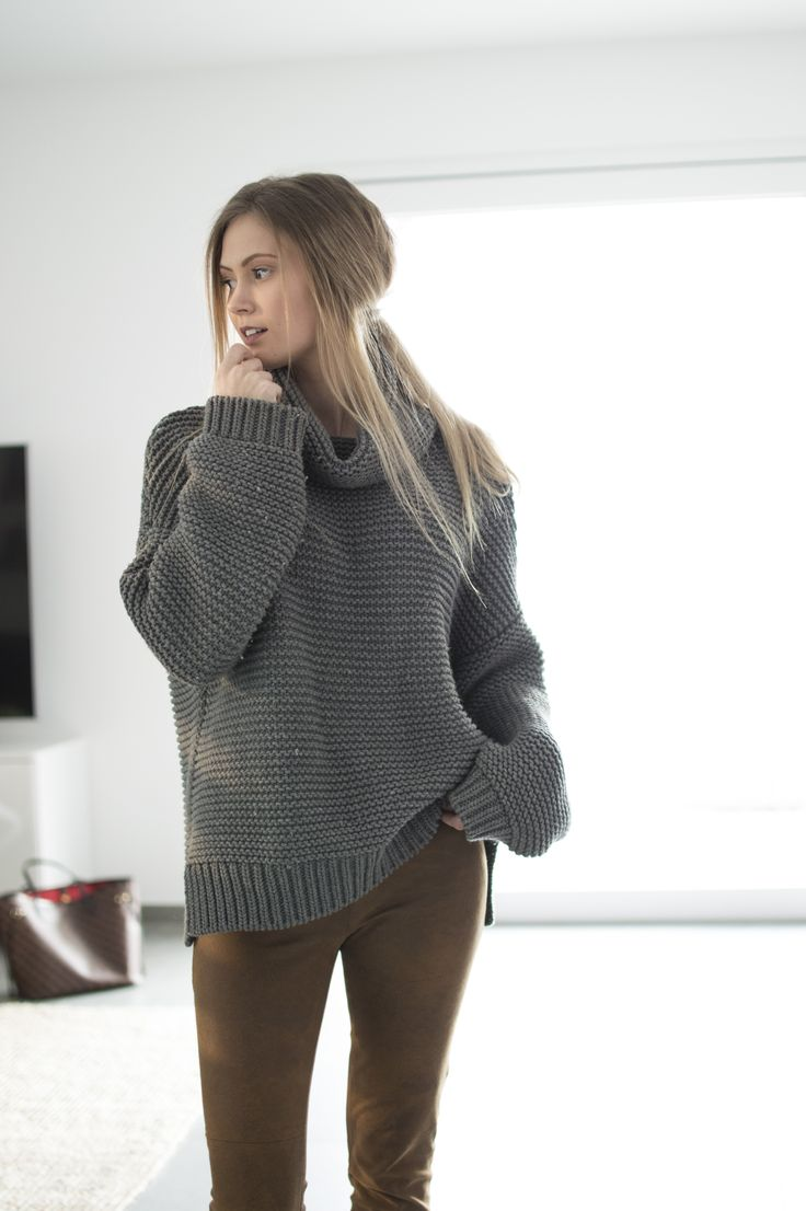 Cozy knit sweater – BELLE | Allt milli himins og jarðar #outfit #ootd #clothes #style #fashion #sweater #knit #cozy