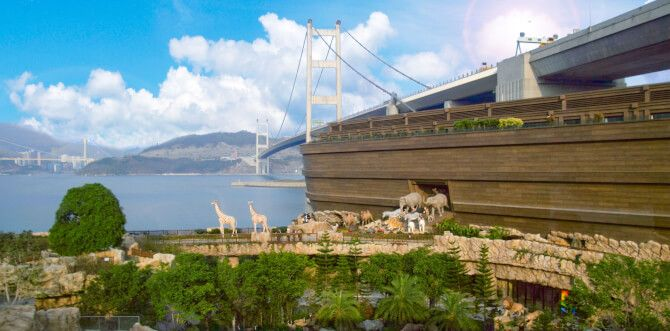 Top 20 things to do in Hong Kong: Noah's Ark