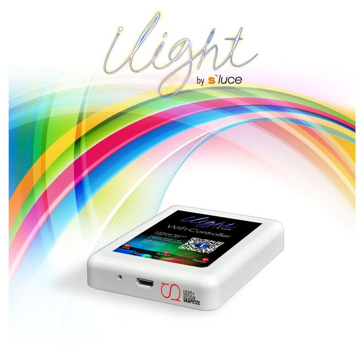 SKAPETZE -    iLight / WiFi-Controller zur LED-Steuerung per Smartphone/Tablet Innenleuchten Zubehör Innen