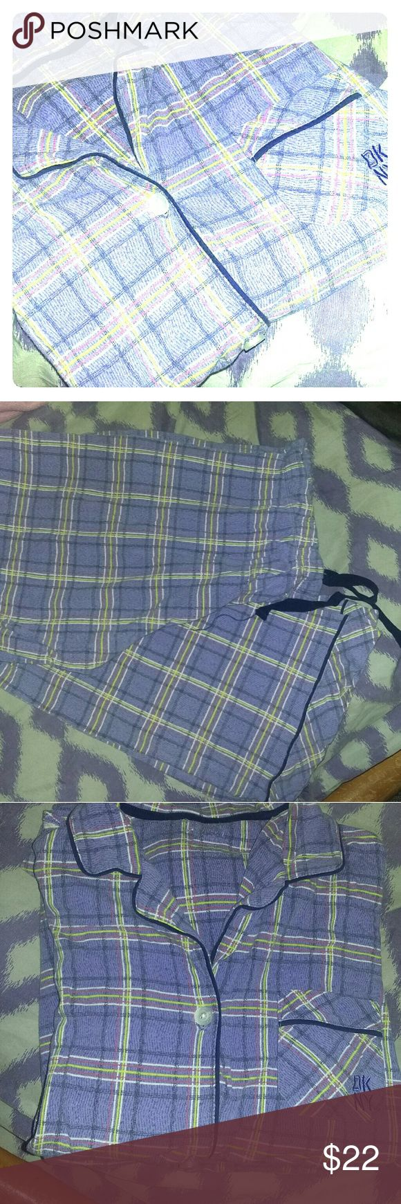 Nautical and PJ Couture jammies, and nwot slippers Purple/black, soft, warm flannel jammies by Nautical, sz L, $13. Soft, cute PJ Couture jammies with a soild tank and shorts decorated with skulls sz L, $15. Brand new, never worn grey flannel ankle slippers that come from a safe shelter that feed 32 pets upon purchase, sz 6, $18. $46 if purchased separate, $22!!!! If purchased together! And animals will get food and toys 😍 Nautical Intimates & Sleepwear