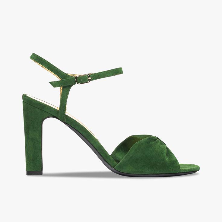 Sandales cuir velours Avellino - MICHEL VIVIEN - Find this product on Bon Marché website - Le Bon Marché Rive Gauche