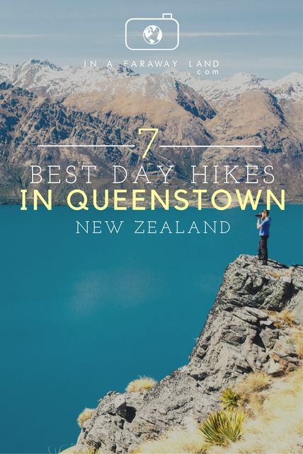 7 best day hikes in #Queenstown, #NewZealand