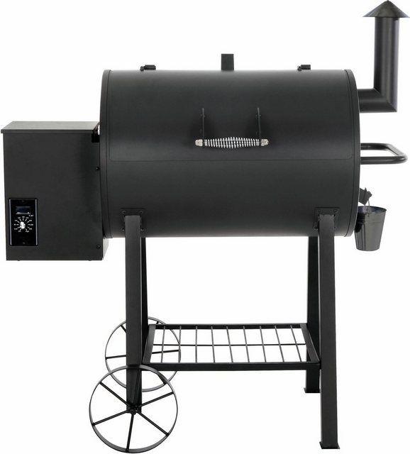 Grill Ofen Feuerschale Smoker BBQ Holzkohle Räucher Tonne Grillfass Feuerstelle