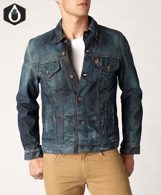 Levi's Vintage Slim Fit Trucker Jacket.