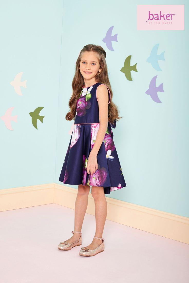 85 best flowergirls bridesmaid dresses images on pinterest buy baker by ted baker blue prom dress from the next uk online shop ombrellifo Images