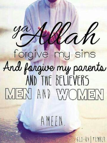 #islam #forgive #men and #women :) Aamiin