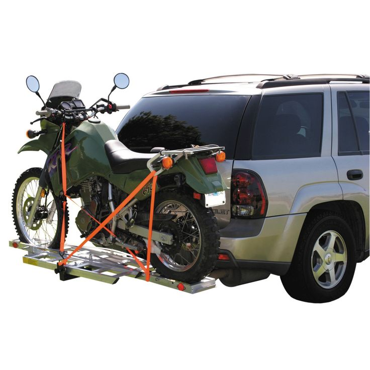 400 Lbs Receiver Mount Motorcycle Carrier Trailers