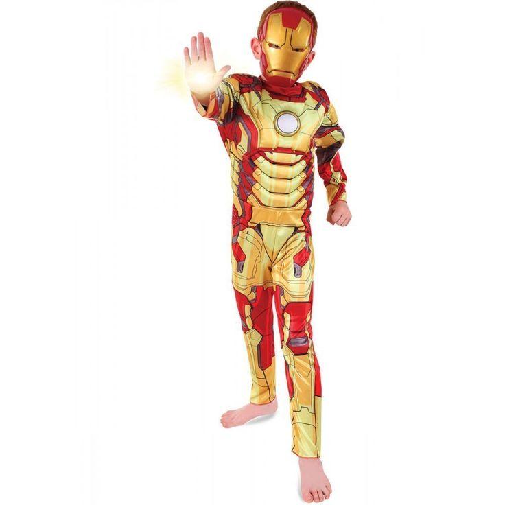 Costume Iron Man Avengers http://www.regaliperbambini.org/abbigliamento/costumi-carnevale/costume-iron-man