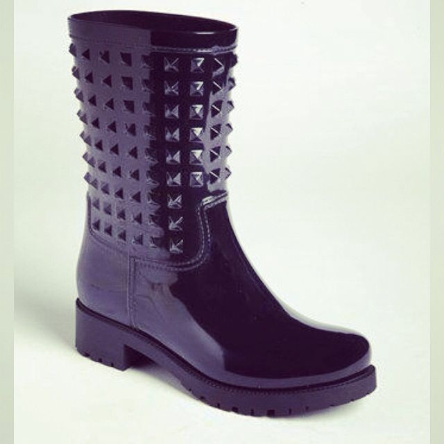 e-shoes jak valentino Rain boots