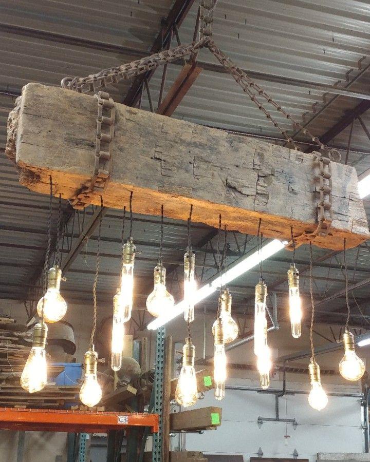 Barn wood light!