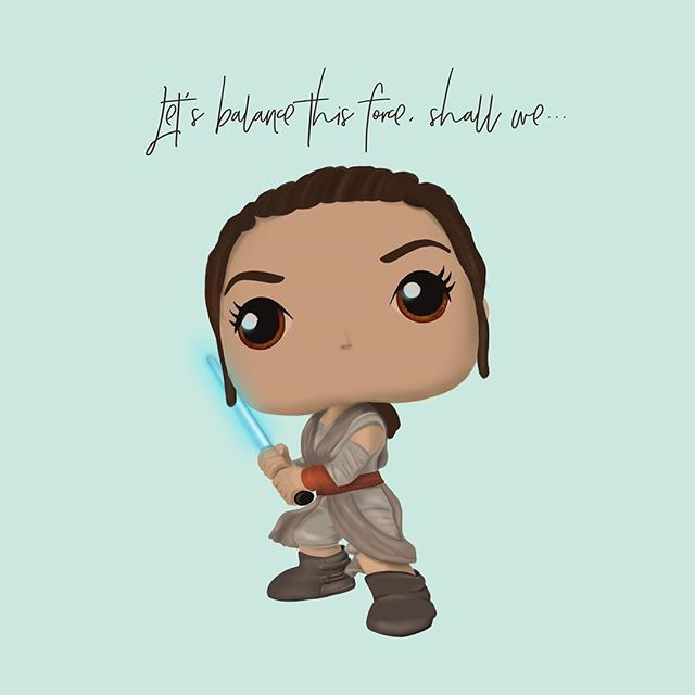 This post is all about celebrating creativity! Completely drawn on the iPad Pro using the #procreateapp, this little Rey from The Force Awakens is inspired by the über-cool Funko Pop Vinyl figures and a passion project of our creative director Judith. . May the #force be with us all!!! (Where are the Star Wars emoticons when you need one?) 😂 . . . . .  #designfeed #starwars #starwarsart #rey #digitalpainting #Calltobecreative #thatsdarling #creativepreneur #designisinthedetails…