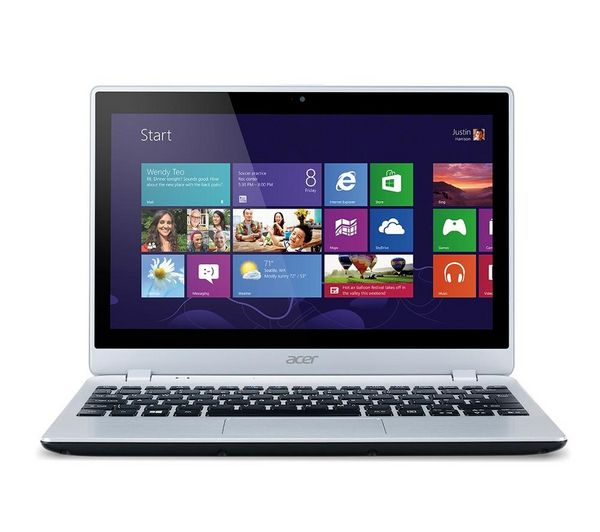 "V5-122P 11.6"" Touchscreen Laptop - Silver"