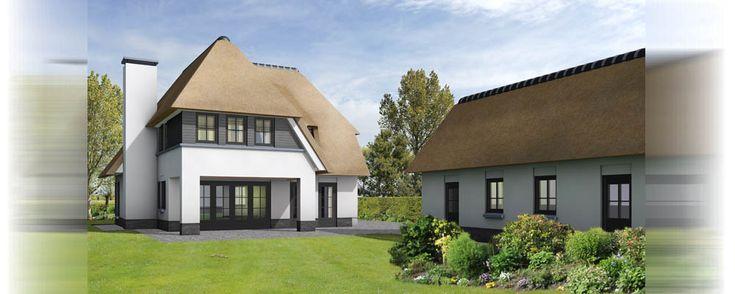luxe vrijstaande woning ontwerp 3d exterieur