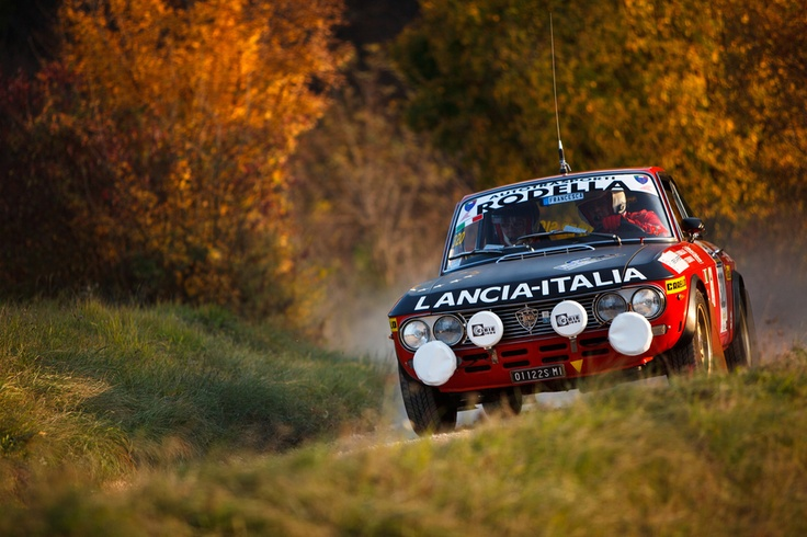 Historic Lancia Fulvia HF Rally