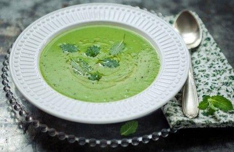 Sopa fria de ervilha fresca | Panelinha - Receitas que funcionam