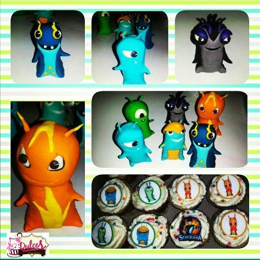 Bajoterra cupcakes