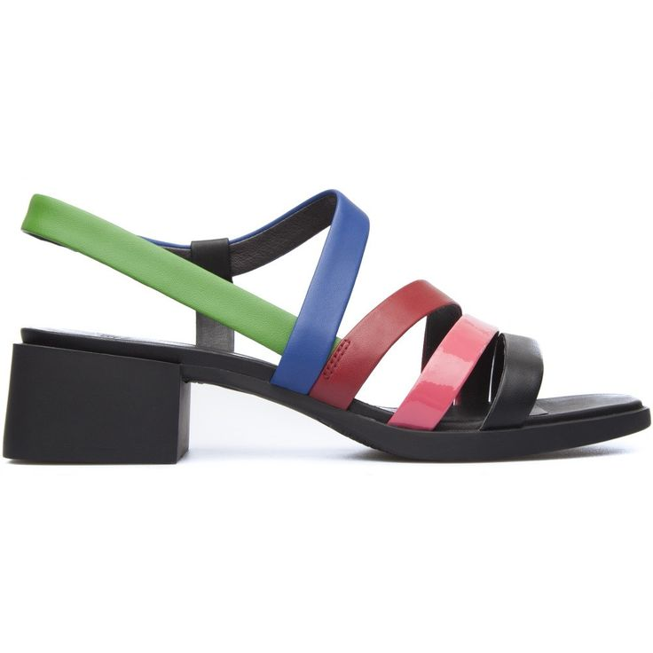 Our classic TWINS concept — opposite yet complementary — lives on in these mismatched women's sandals that form a truly unique pair.