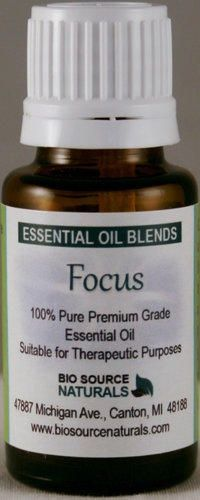 Focus Essential Oil blend contains Vetiver, Cedarwood and Lavender which have all shown 65-100% clinical improvement in focus for Attention Deficit and ADHD after aromatic exposure.  Focus has other essential oils which enhance self-esteem and feeling grounded.  Available in a 15 ml concentrate to dilute in your favorite lotion or oil and a convenient roll on, prediluted.  #aromatherapy