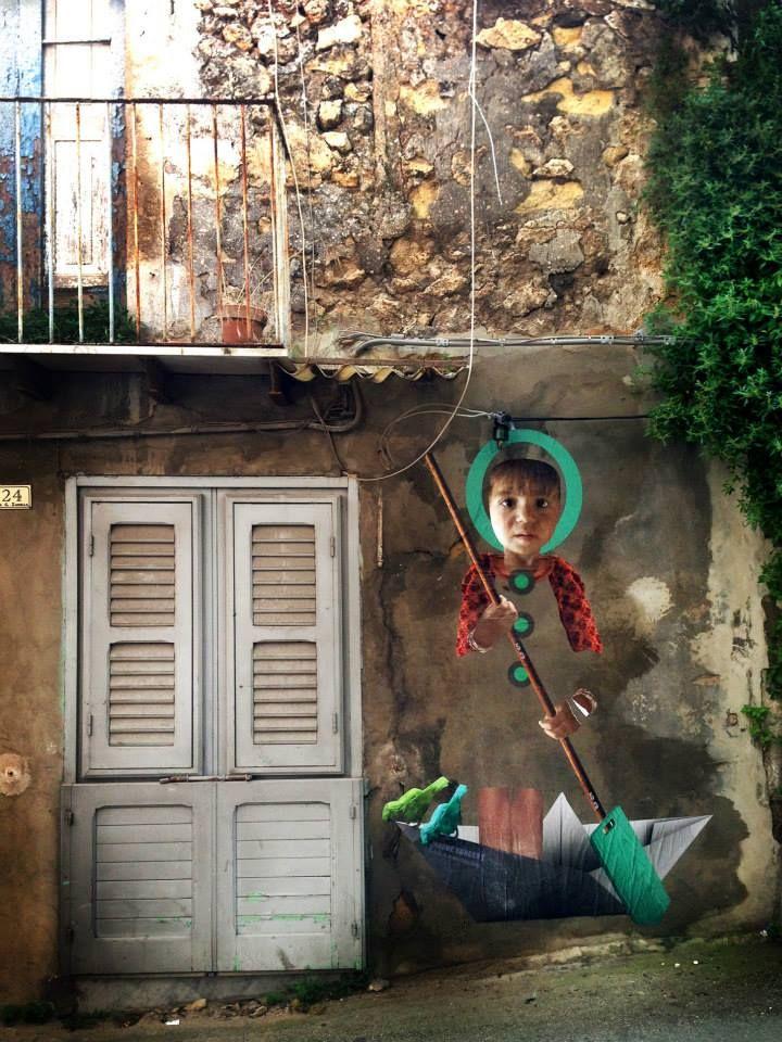 #ChromeSurgery  #PosterArt - #StreetArt -  #Favara (AG) - #Sicily — presso #FARM CULTURAL PARK.