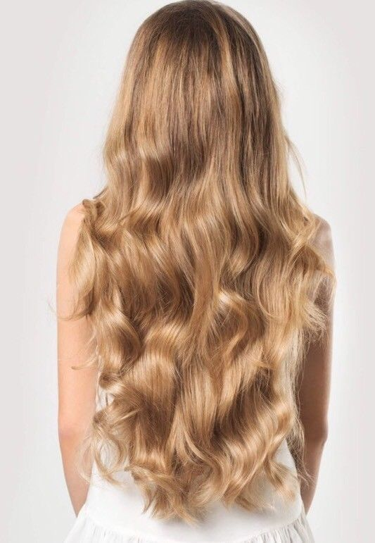 Luxy Hair Extensions 160g Color 18 Dirty Blonde Hair Extensions
