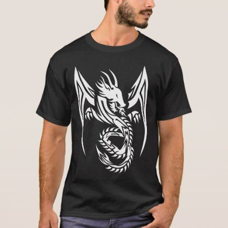 Tribal Dragon T-Shirt - click/tap to personalize and buy