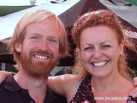 Rich Keam (WA Taste Master) and Carolyne Jasinski