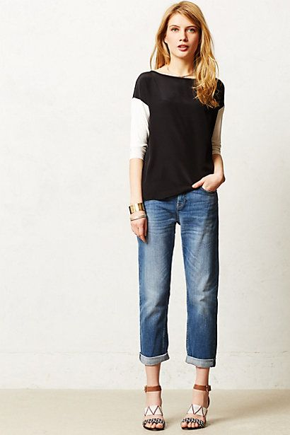 MiH Jeans Phoebe Slim Slouch #anthrofave
