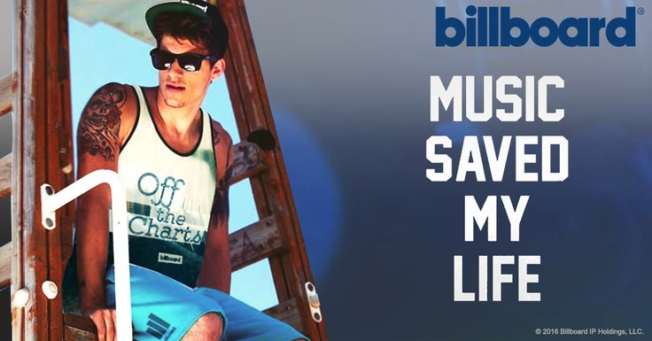 BillBoard - Music is life that's why our hearts have beats #music #life #enjoy