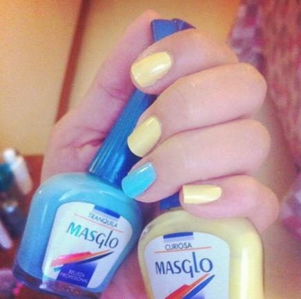 Curiosa - Tranquila - Masglo / Nail polish  #nailart #colors #fun #Nail #Polish #uñas #esmaltes