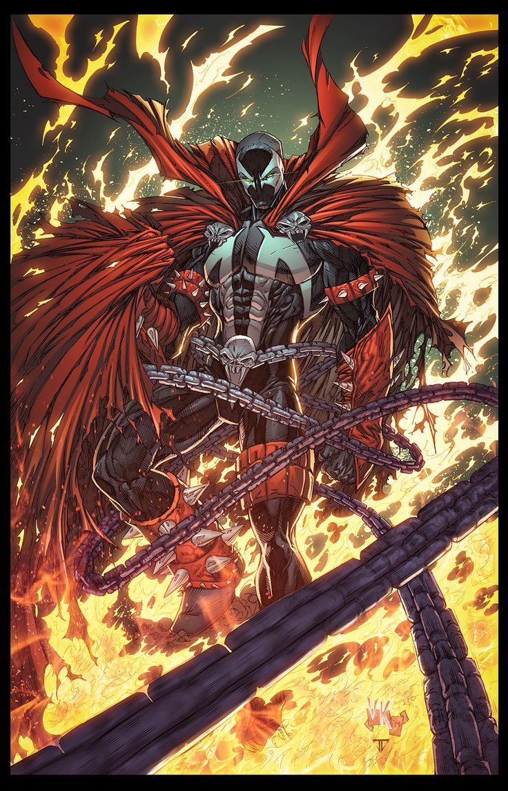 Spawn lake of fire by juan7fernandez.deviantart.com on @DeviantArt