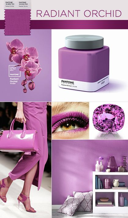 Radiant Orchid Revealed as Pantone's 2014 Color of the Year!