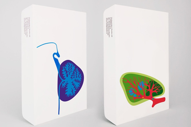 Swedish pharmacy chain Vårdapoteket uses vivid jewel colors and cartoonish illustrations of the human body to create a lively look for the various bags, promotional signage, information leaflets, and wallpaper at its 24 stores.     Sick people have different needs from someone shopping for discount soup cans. Research has shown that positive environmental factors can reduce patients' anxiety and even contribute to their overall well-being.