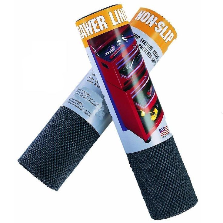 "112"" Non Slip Tool Box Liner Heavy Duty Foam Rubber Lining Drawer Roll #STON"