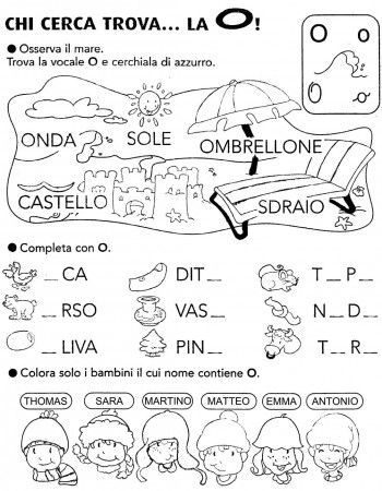 9 best letto scrittura images on pinterest autism speech language therapy and homeschool - Esercizi di letto scrittura ...