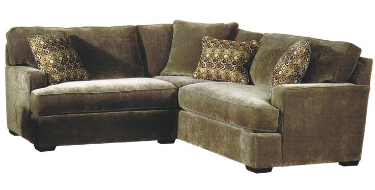 In Navy For The Basement Tyler 2 Piece Sectional By