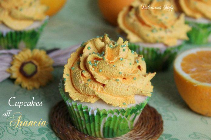 I Cupcakes alle Arance sono golosissimi dolcetti monoporzione