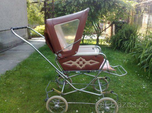 Prodám retro kočárek Liberta - 1