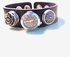 When I received my #bracelet in the mail, I was very pleased. The quality of the #leather #band is perfect and very comfortable on the wrist.  I decided to keep the colors simple, so I went with strictly #silver and black #charms. The six #charms I chose are simple yet #unique, and they are very versatile with what I wear on a daily basis. The clock #charm has to be my #favorite #DIY design #jewelry and #bracelets