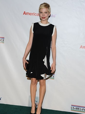 Michelle Williams Wears Givency Dress that Hasn't Debuted on Runway Yet