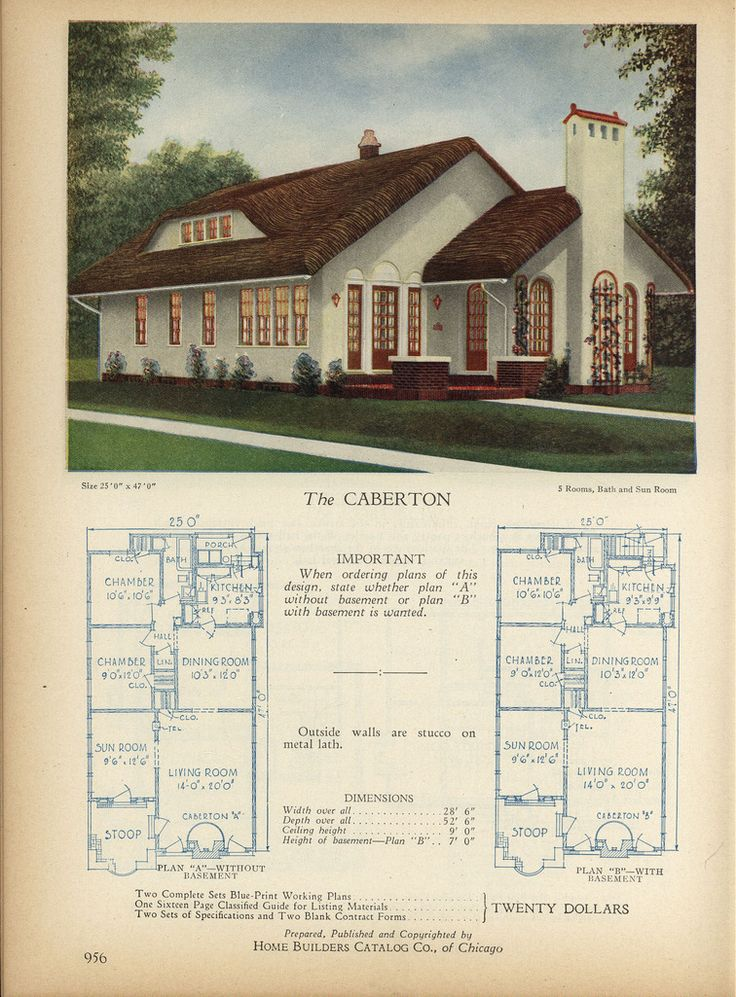 Home Builders Catalog plans of all types