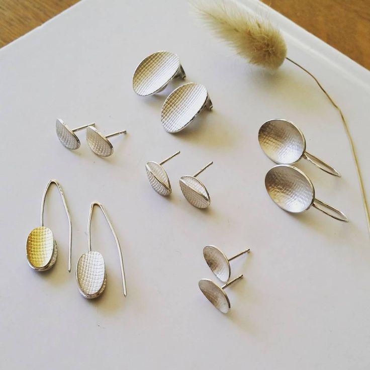 "52 Likes, 1 Comments - Britta Brand (@brittabrand) on Instagram: ""Delivering more of these - still stuck on ovals  . . . #bijoux #jewellery #schmuck…"""