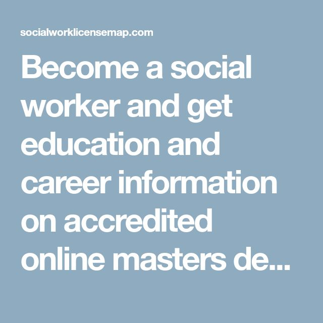 Become a social worker and get education and career information on accredited online masters degree in social work. Online master of social work online program ranked #1 Online social work degree program. List of top masters of social work programs from accredited colleges.