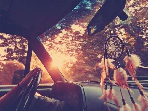 When I get a car I'm hanging a dream catcher in it.