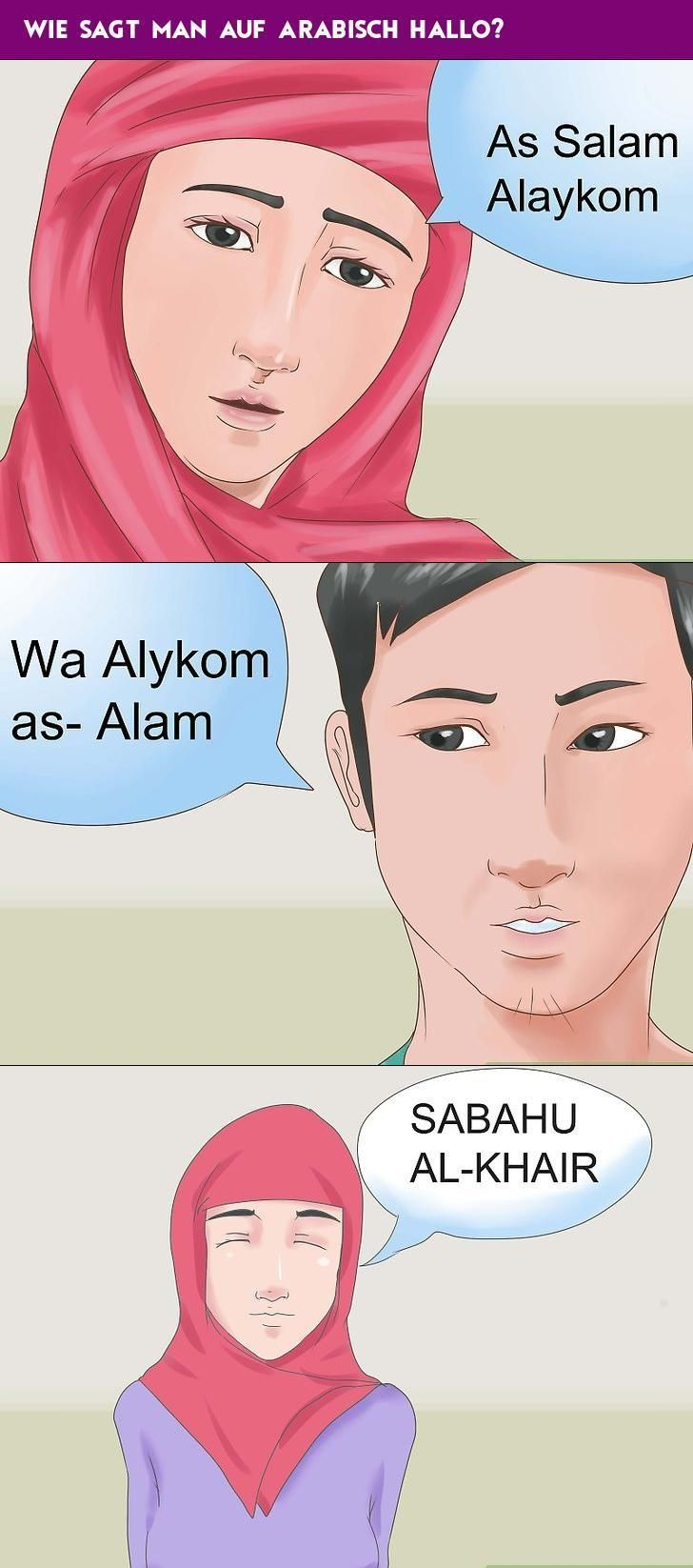 Wie Sagt Man Auf Arabisch Hallo - Wie Man