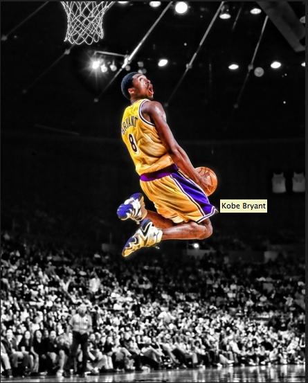 | Artwork Lakers RareInk Kobe From Gallery  Legendary