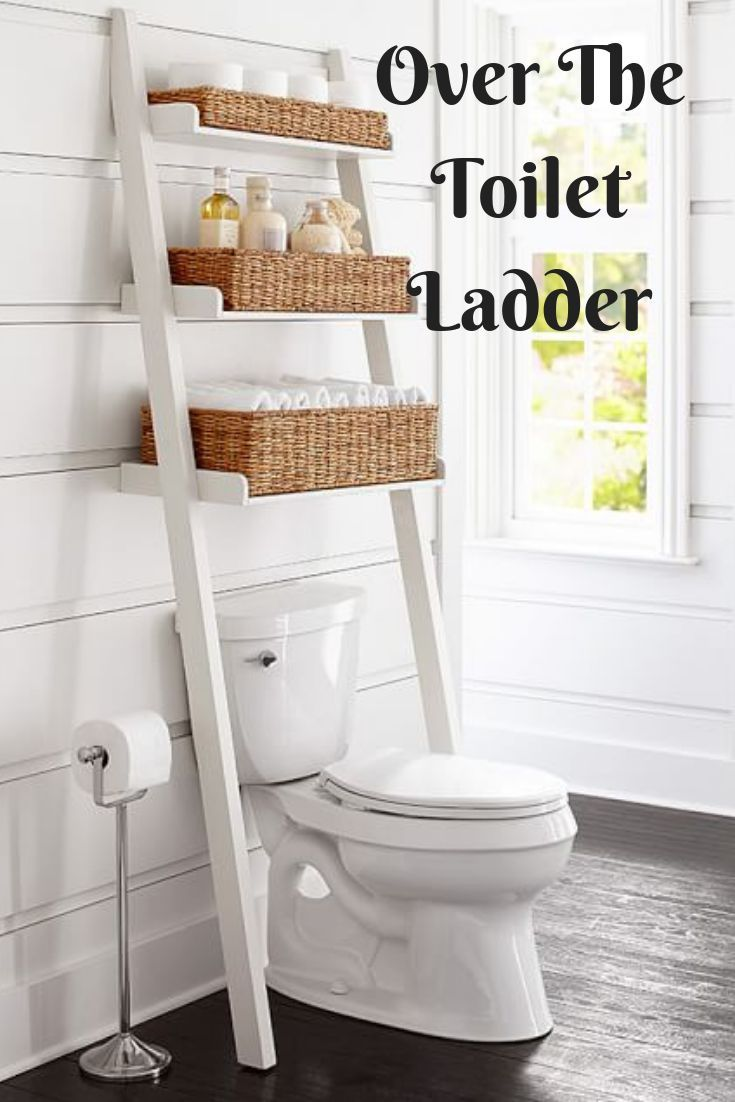 Love This Over The Toilet Ladder